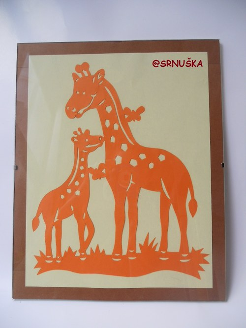 Žirafia materinská láska