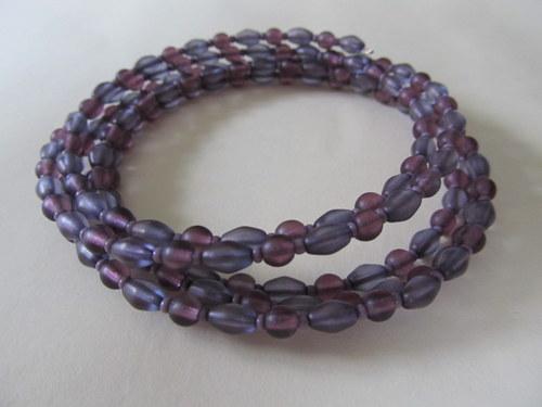 Náramek fialový