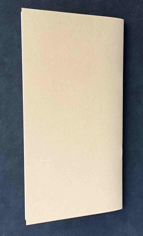 Papírová náplň do diáře /prázdná/  21cmx11 cm