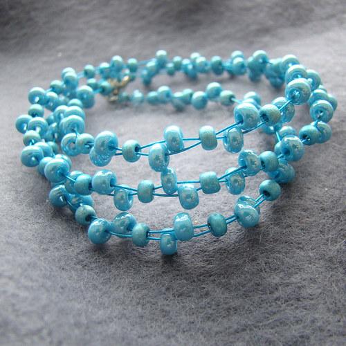náhrdelník tyrkysový