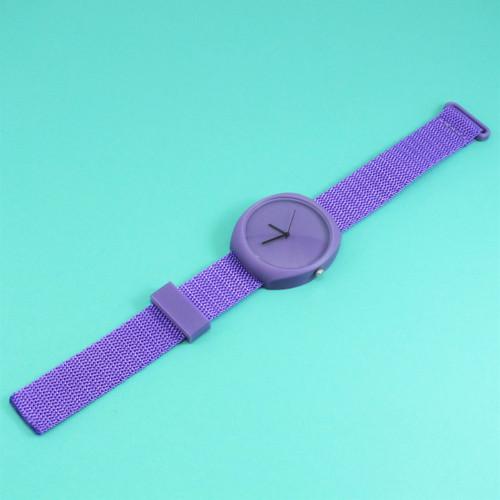Designové hodinky duha violet