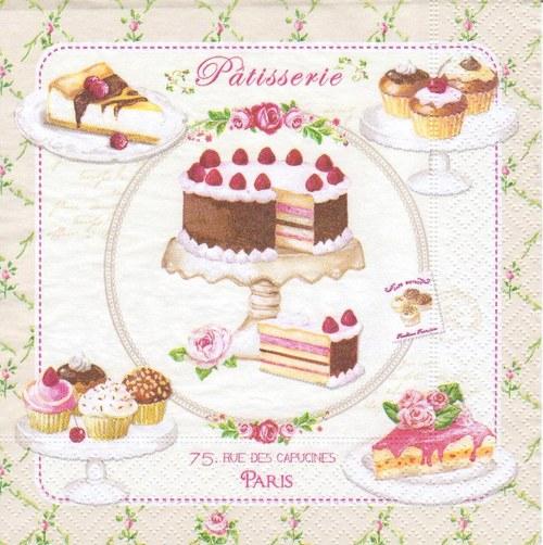 Ubrousek - dorty a zákusky