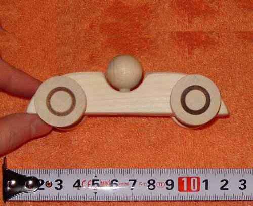 formule- dřevěná hračka