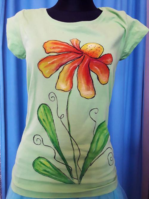 Malované tričko