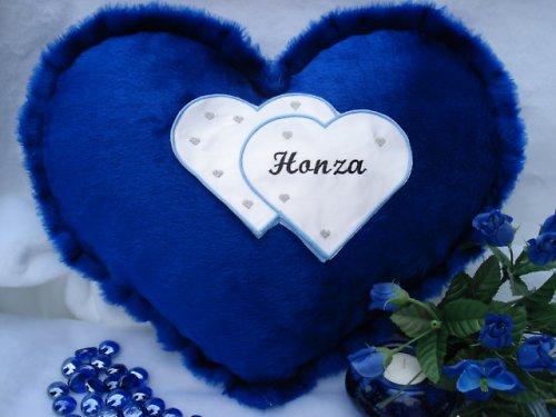 Polštář srdce Honza