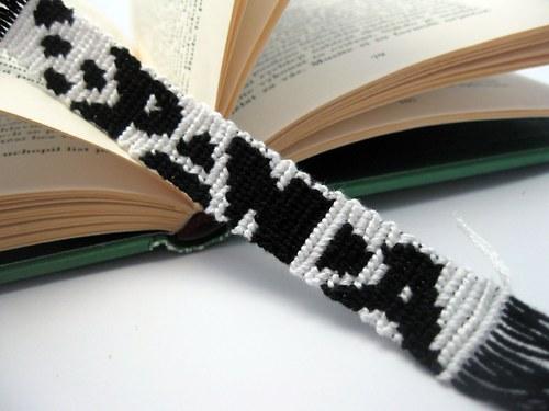 Záložka do knihy - panda