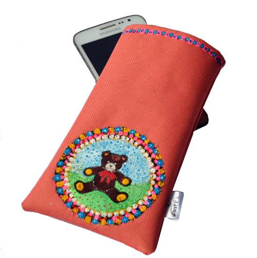 MEDVÍDEK - kapsička na mobil XL