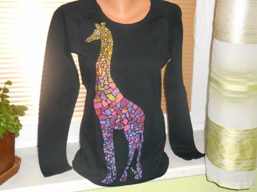triko žirafičí