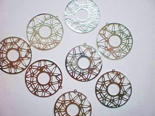 Kruhové ramínko 35 mm  13 kusů