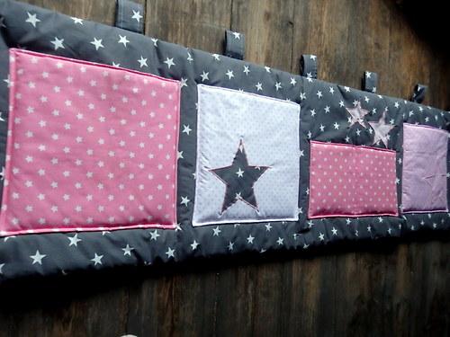 Kapsář za postel...hvězdné nebe - 200x50cm