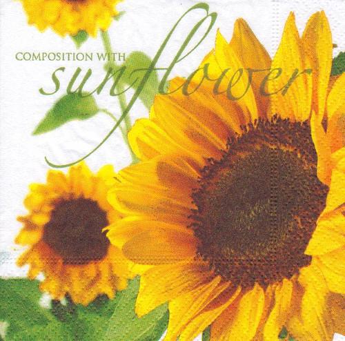 Ubrousek - slunečnice (3 ks)