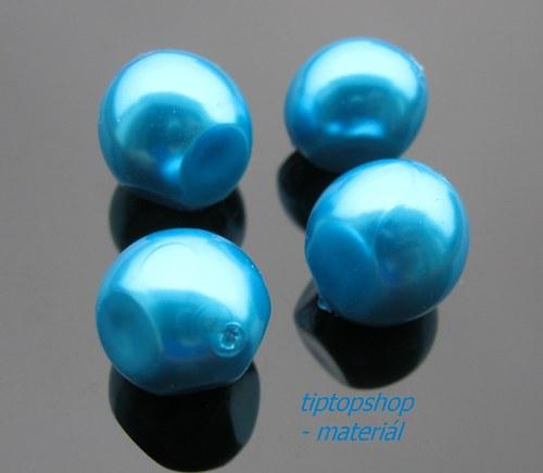 Voskované perly nugeta, atlantis, 13x15mm (4ks)