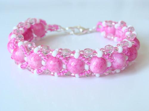 Růžový perličkový