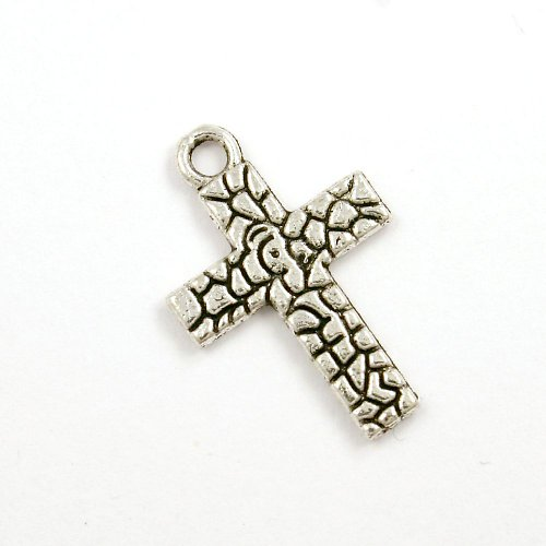 Přívěsek - vzorovaný křížek