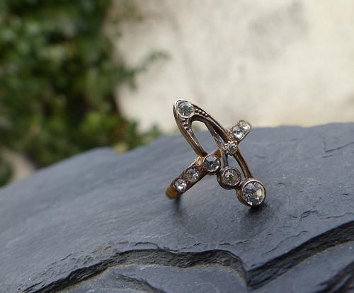 Střípek minulosti...Art Deco prsten