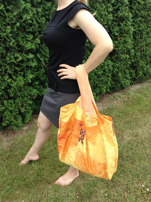 Velká oranžovo-žlutá taška