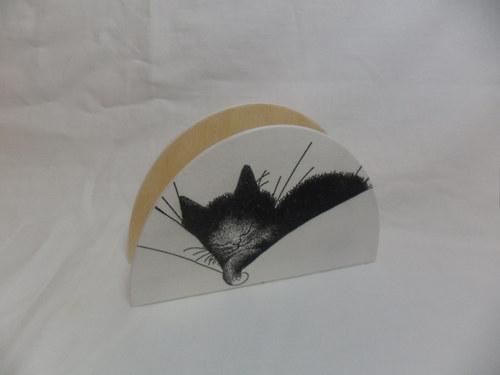 Kočičí  stojánek na ubrousky