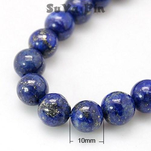 Korálky Lapis Lazuli  10mm; 1ks
