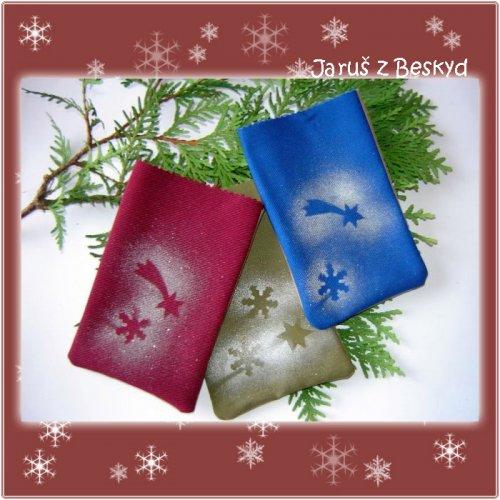 Vánoční dárkové pytlíčky (3ks)