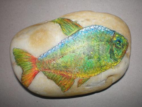 Zelená rybko, přeji si ...