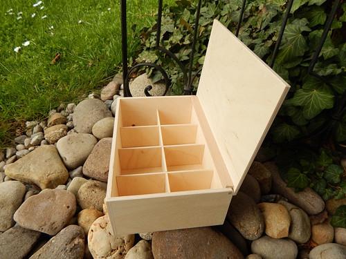 Nová krabička na čaj 8 komor