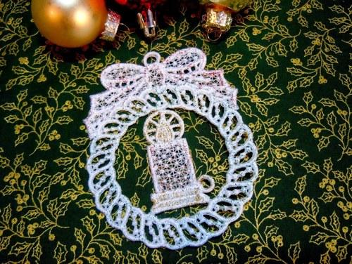 Kouzlo Vánoc no. 5 (svíčka)