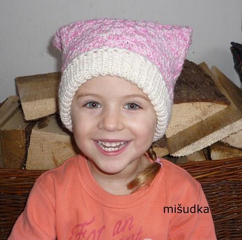 Šátek jako od maminky - růžový