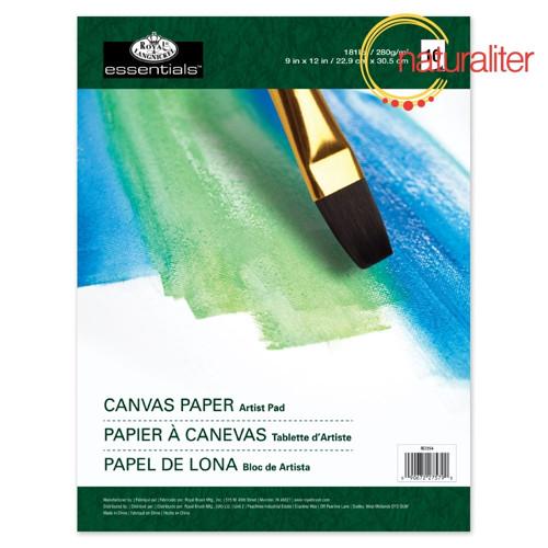 Skicák s plátny 22,9x30,5cm 280g/m², 10 archů