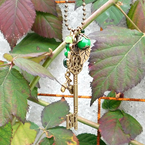 Kouzelný les - náhrdelník