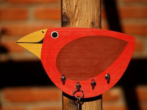 Věšák - ptáček
