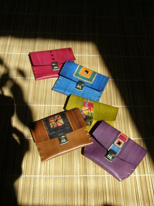 Malé peněženky různě zdobené na zakázku