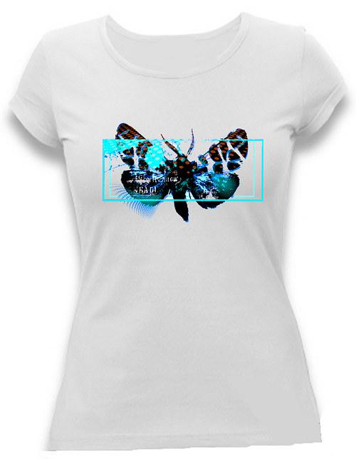 Dámské tričko ,, Tyrkys´´