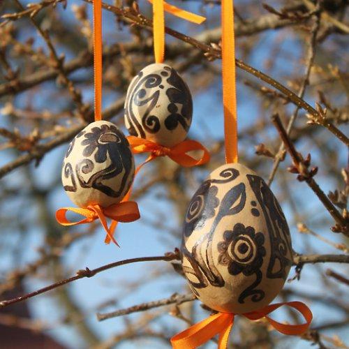 Keramická vajíčka - kraslice