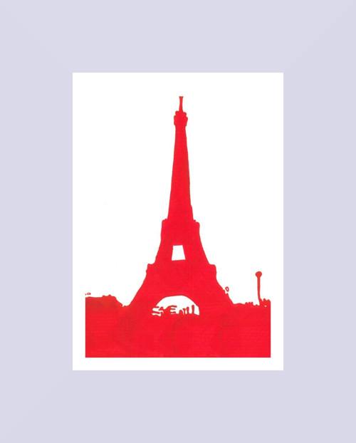 Eiffel Tower (tisk A4)