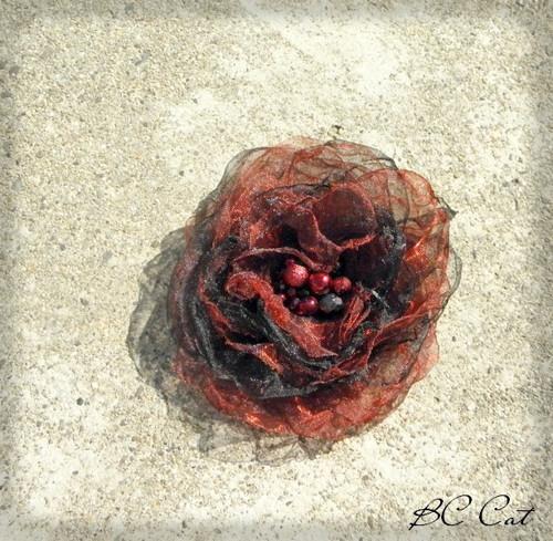 Růže - brož