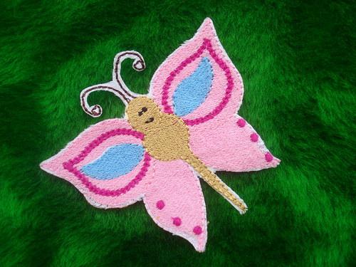 Nášivka motýlek