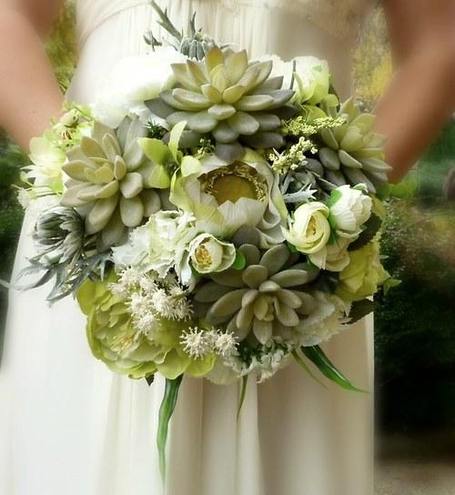 Svatební kytice  Sarah + korsáž