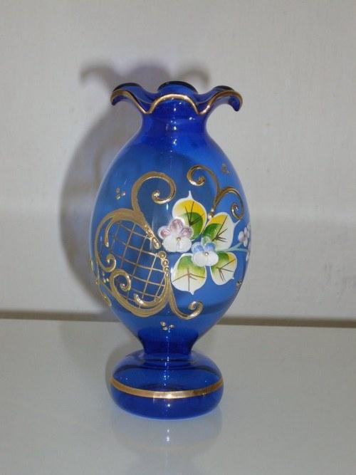 Váza panáček smalt