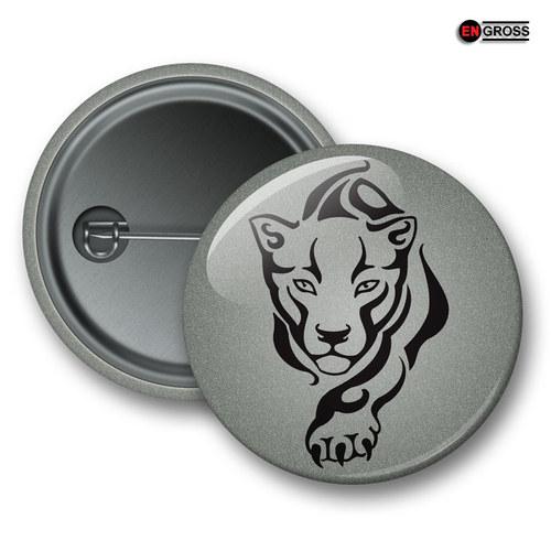 Reflexní připínací odznak - Puma