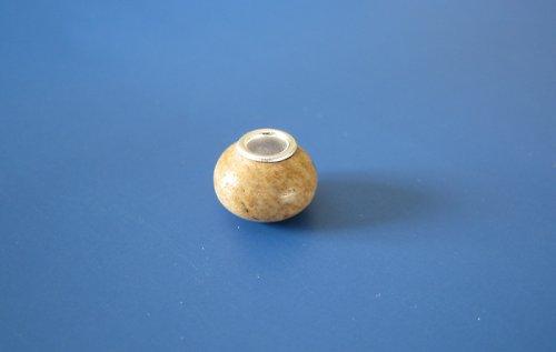 Korálek - jádro stříbro 925 - písčitá - minerální