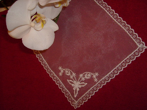 Svatební kapesníček
