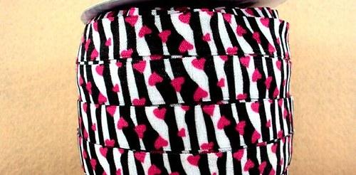 Pruženka/guma š. 16 mm: Zebra