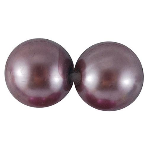 perly/ hnědorůžová/ 5mm/ 5g cca 90-95ks