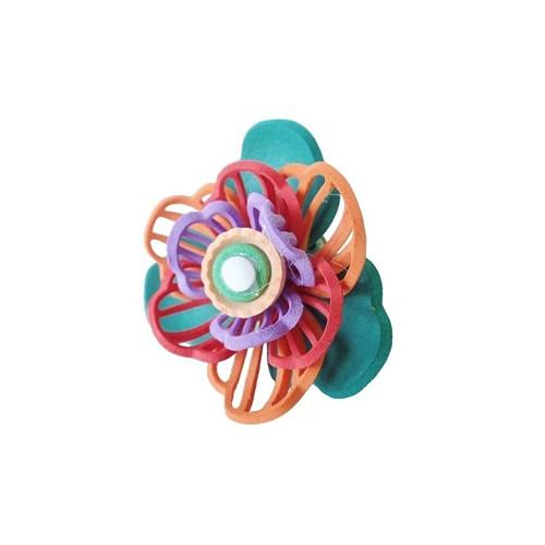 Prsten gummy barevný II.