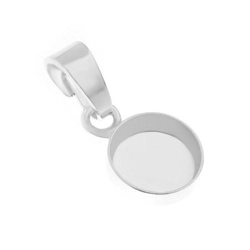 Přívěsek s lůžkem 8 mm,stříbro Ag 925/1000