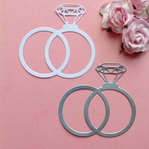 Prsteny- sada 2ks, barva dle přání (LAS 18)