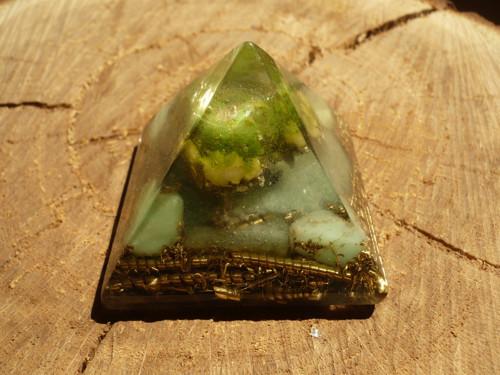 Orgonitová pyramida - srdeční