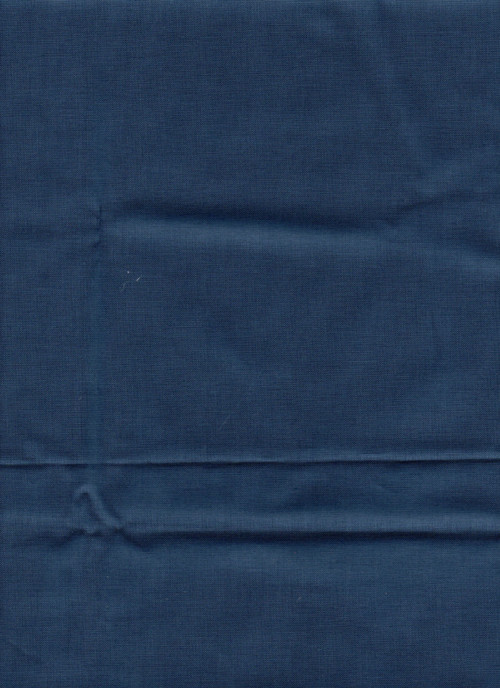 Látka jednobarevná, inkoustově modrá barva