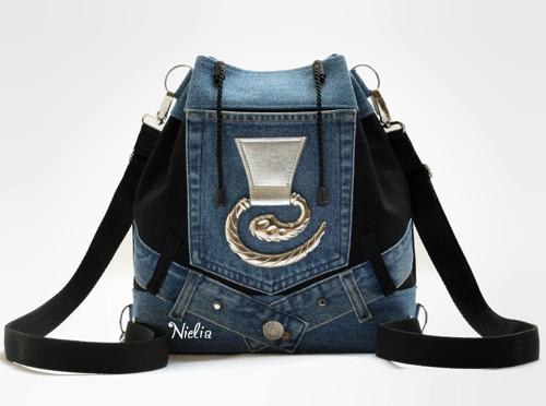 S opaskovou kapsou V (kabelko-batůžek)