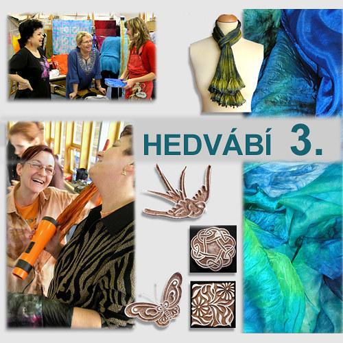 Kurz HEDVÁBÍ 3.(batika a tisk),17.6.18 -Praha 9